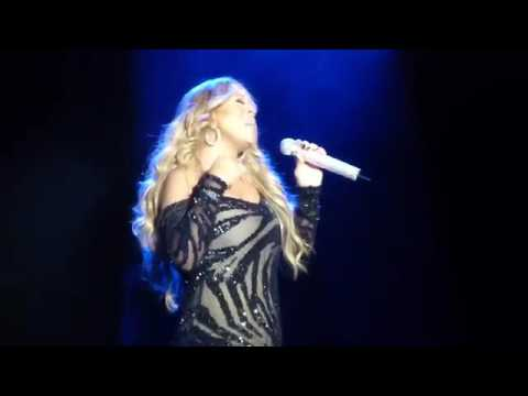 Mariah Carey gets her diva on and does some improvised singing in Australia