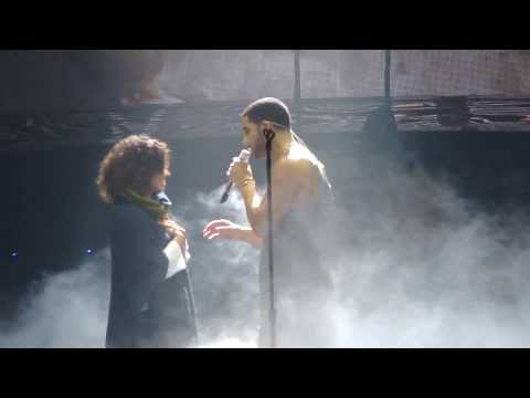 Drake Brings Fan On Stage while performing Hold On, We're Going Home @ Would You Like A Tour.[HD] Mp3