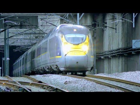 Trains At Stratford International, HS1 | 20/08/18