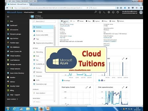 How To Resize VM Virtual Machine | Learn Microsoft Azure Training Step By Step Video Tutorial.