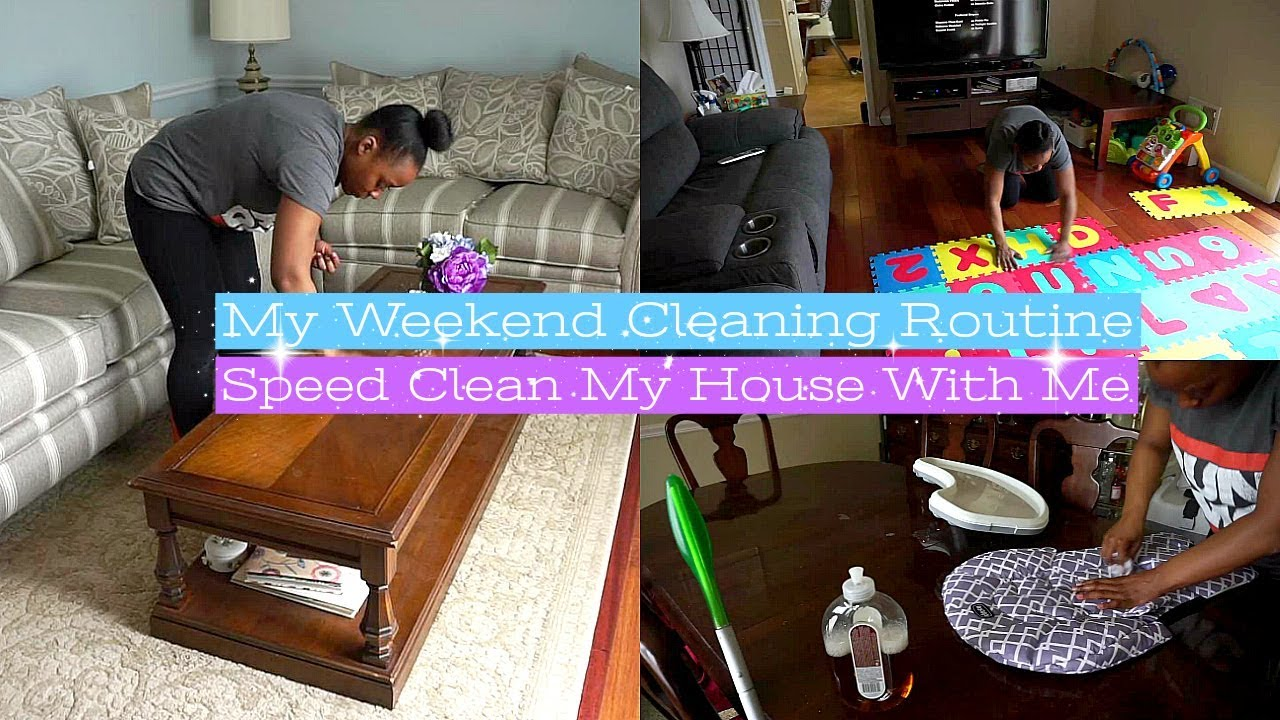 My Weekend Cleaning Routine Motivation For Busy Moms How To Clean Your House Fast