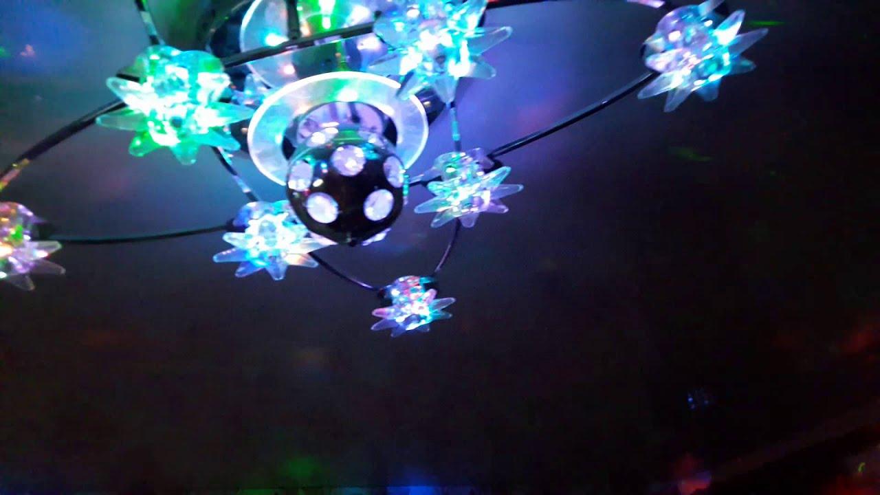 Цветомузыка дома.3gp - YouTube