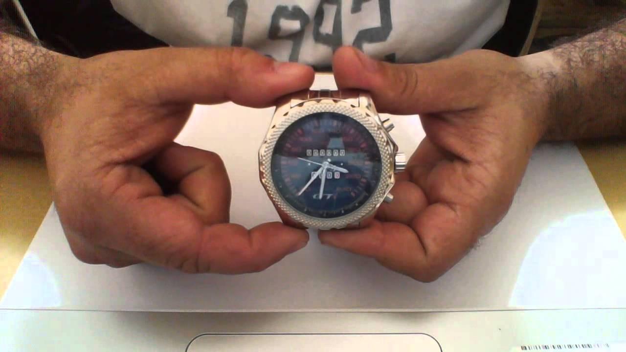 b551124738c Neka Relogios - Relógio personalizado painel vw gol gti fundo preto 5276g -  YouTube