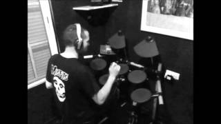 The Misfits - Scream ! AJPR- drum cover.