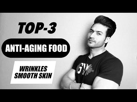 Top 3 ANTI-AGING Food   Reduce Wrinkles & Increase Skin Glow   Info by Guru Mann