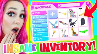 *UNBELIEVABLE* Adopt Me INVENTORY! Adopt Me Legendary Inventory (Roblox)