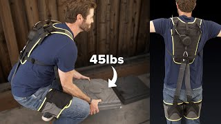 This $1,200 exosuit can take 50 pounds off your back
