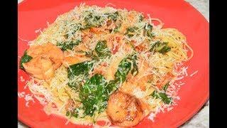 Creamy Garlic Butter Tuscan Shrimp and Scallops