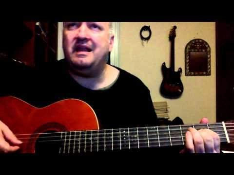 Children of the Sea - Black Sabbath cover - classical guitar and voice