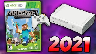 Minecraft, But it's Xḃox 360 in 2021