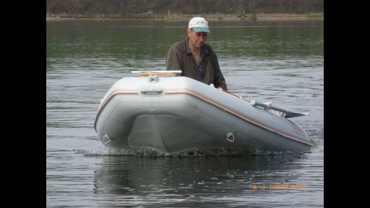 Усиление лодки ПВХ своими руками - YouTube