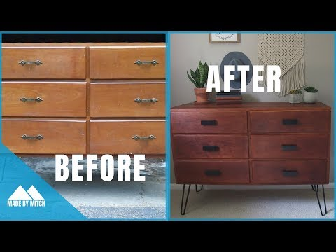 Restoring an old Dresser | How to
