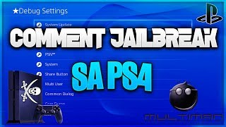 TUTO: Comment jailbreaker sa Ps4 !!! [NO FAKE]