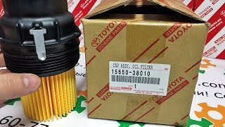 видео Масляный фильтр на Toyota Land Cruiser Prado (120, 150) Land Cruiser Prado 1, Land Cruiser Prado 2, Land Cruiser Prado 3 - 2.7, 3.0, 3.4, 4.0 л. – Магазин DOK