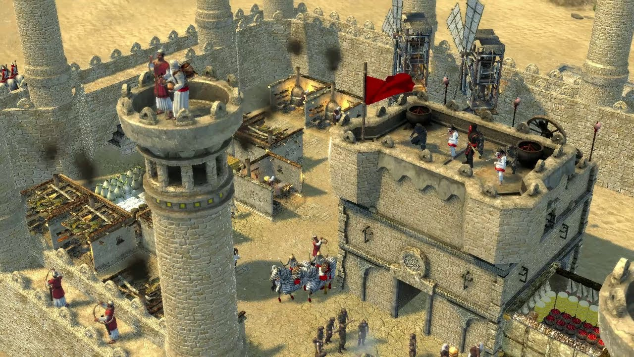 Stronghold crusader 2 скачать