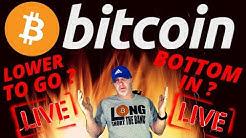 🌟 BITCOIN CHAT LIVE 🌟bitcoin bottom price prediction, crash, analysis, news, trading