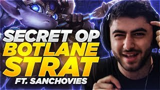 Yassuo | SECRET OP BOTLANE STRAT!!! Ft. Sanchovies