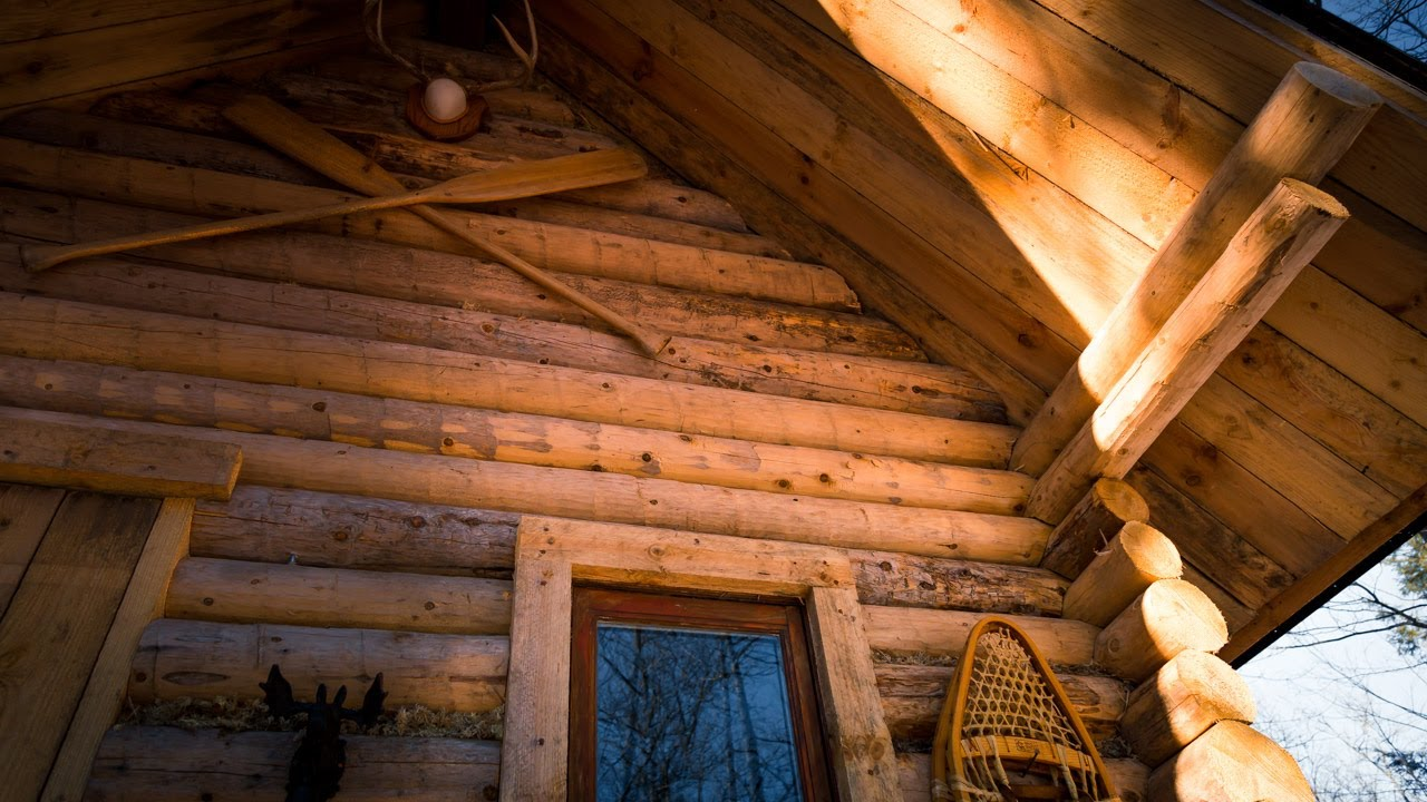 Off Grid Cabin In The Forest: Raising The Roof And The Power Of Inertia