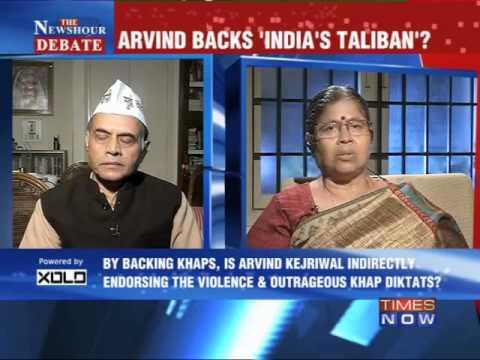 The Newshour Debate: Arvind Kejriwal Backs 'India's Taliban' - Full Debate (31st Jan 2014)
