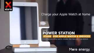 Xtorm Power Station Stage for Apple Watch and iPad mini or iPhone