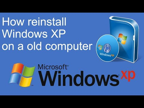 How Reinstall Windows XP On A Old Computer