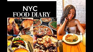 WHAT I EAT IN A DAY ON VACATION | THE BEST PLACES TO EAT IN NYC