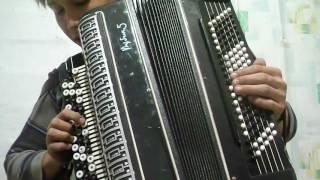 су буйлап  татарская песня на баяне видео урок часть 2