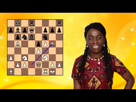 Phiona Mutesi Chess Game (Queen of Katwe)