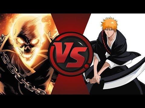 Ghost Rider vs Ichigo Kurosaki! Coin Clash!
