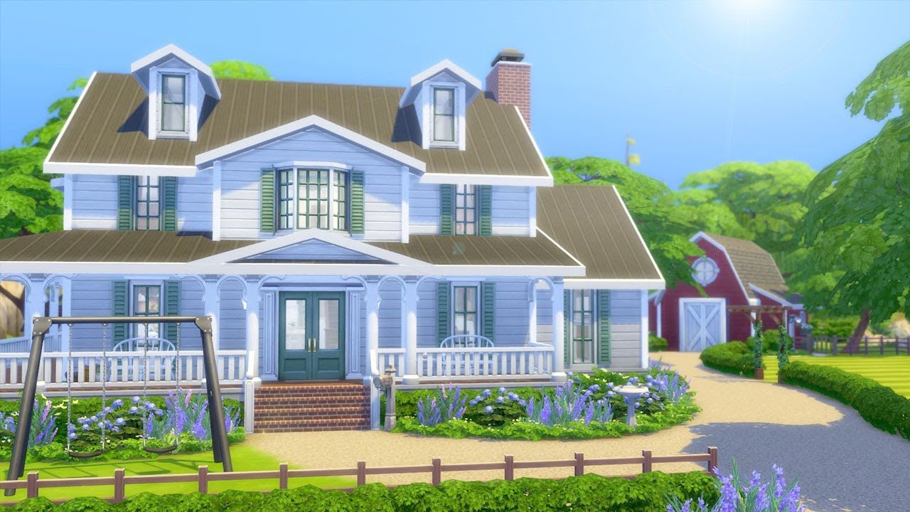 Let's Build a Farm in The Sims 4 (Part 7)