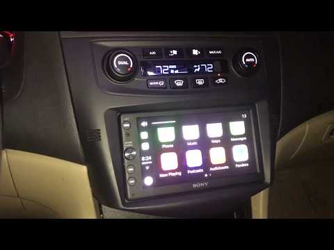 Double Din Radio Install On 2003-2007 Accord PAC RPK4-HD1101