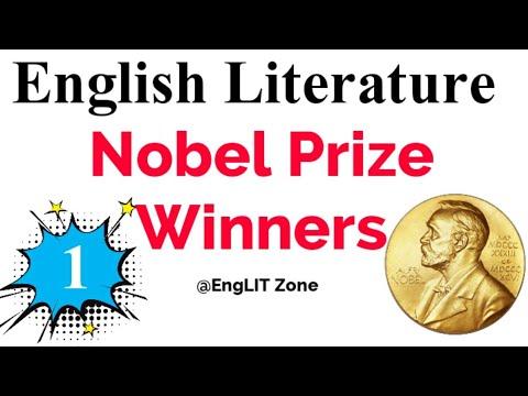 Nobel Prize Winner | History Of Nobel Prize In English Literature | Nobel Prize Winner In Literature
