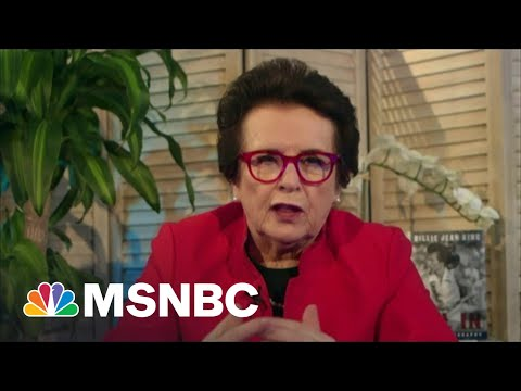Billie Jean King: I Hope My Story Will Make A Difference In Someone's Life