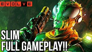 SLIM GAMEPLAY - EVOLVE TIER 4 HUNTERS!! Evolve Gameplay Walkthrough - Multiplayer (PC 1080p)