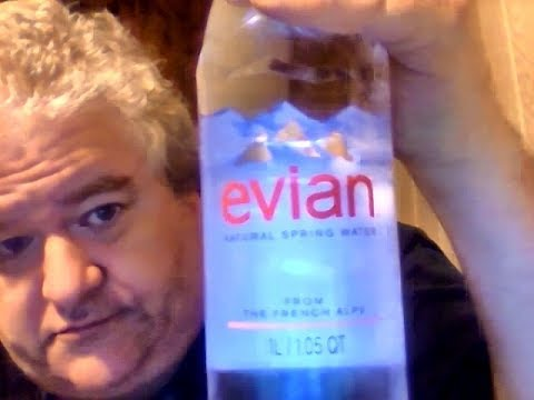 Evian Natural Spring Water & My Personal History With Evian That Started When I Was In The Army
