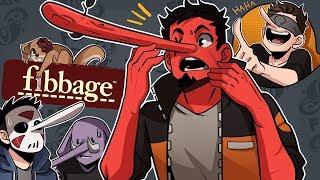 MY FRIENDS ARE A BUNCH OF LIARS! | Fibbage 3 (w/ H2O Delirious, Ohmwrecker, Rilla, & Squirrel)