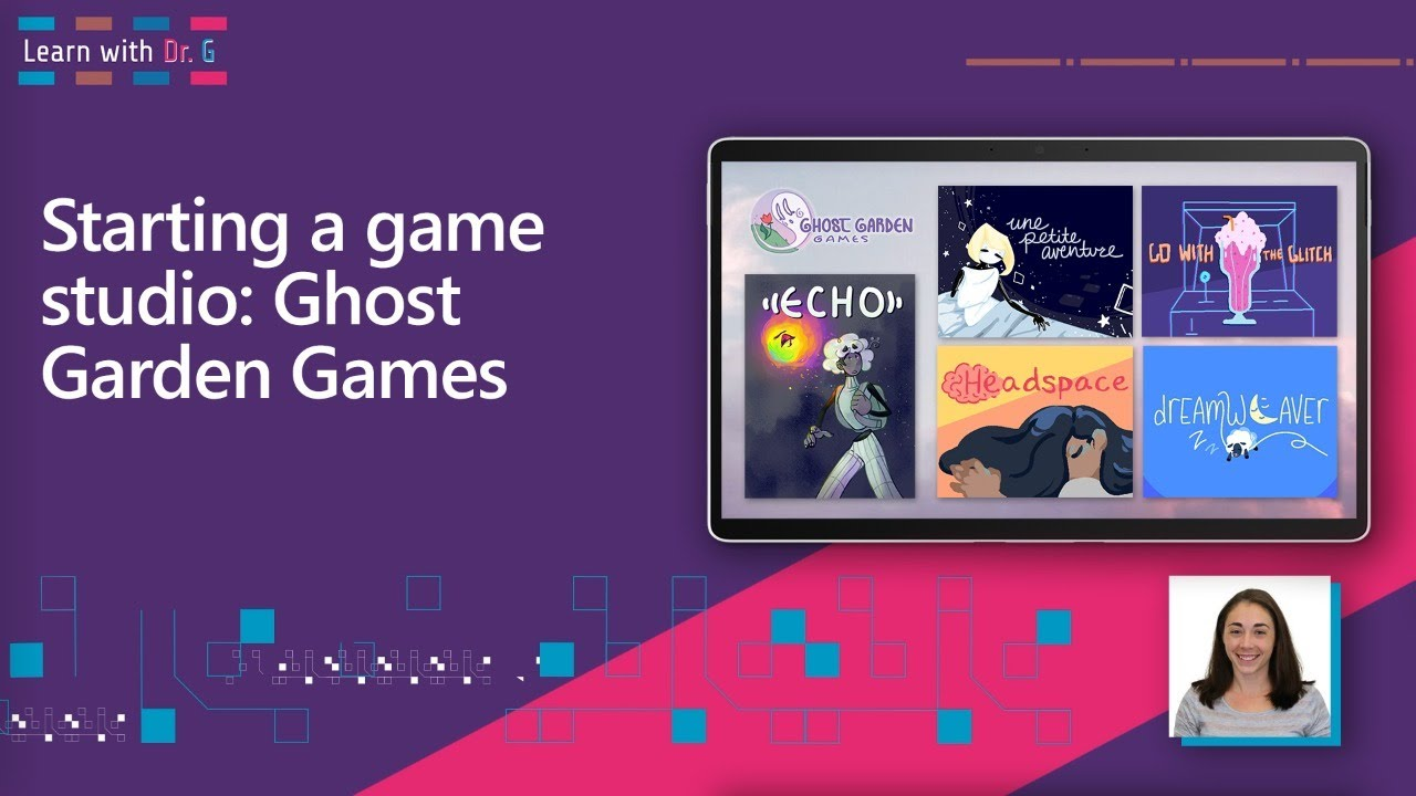 Starting a Game Studio: Ghost Garden Games | Learn with Dr. G