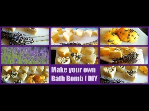 diy badebombe selber machen make your own bathbomb lush like youtube. Black Bedroom Furniture Sets. Home Design Ideas