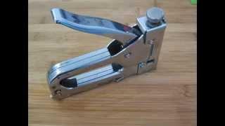 Ta'mirlash stapler o'z qo'llari
