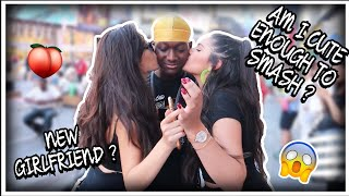 AM I CUTE ENOUGH TO SMASH/KISS ?? ???????? ( I GOT A NEW GF ❤️) | *PUBLIC INTERVIEW*