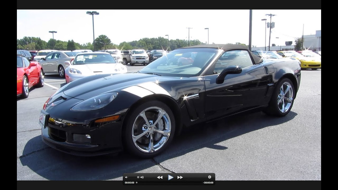 2011 Chevrolet Corvette Grand Sport Convertible Start Up, Exhaust, and In Depth Tour - YouTube