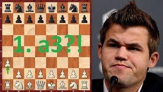 Шахматы. Магнус Карлсен опять балуется в дебюте!:)