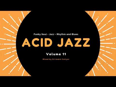 Acid Jazz, Lounge, R&B and Chillout mix by DJ André Collyer Vol 11