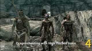 100 Способов умереть в Skyrim Часть 1 (RUS)