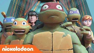 Teenage Mutant Ninja Turtles | Best of Space Montage | Nick