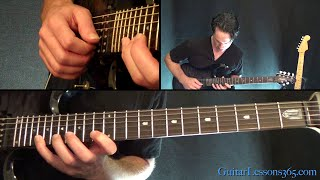 Round and Round Guitar Solo Lesson - Ratt