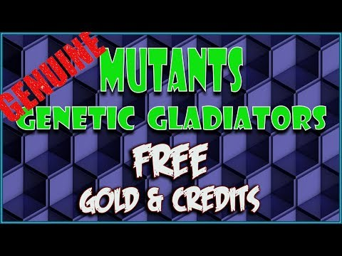 Mutants Genetic Gladiators Hack - Working Cheats for Unlimited Gold and Credits! 2018
