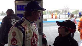 Jason Plato - BTCC Donington 2014 Pole