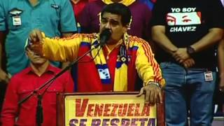 Presidente Nicolás Maduro, cadena completa desde Yaracuy, 23 febrero 2015