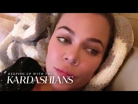 "Khloé Kardashian Reveals Coronavirus Diagnosis on ""KUWTK"" | E!"